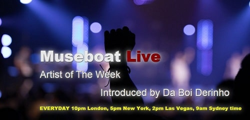 Artist of the week campaign on Museboat Live channel