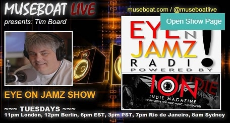 Eye on Jamz music show with Tim Board