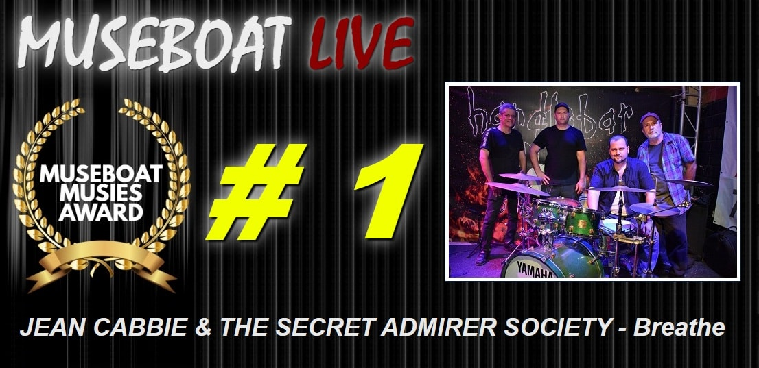JEAN CABBIE & THE SECRET ADMIRER SOCIETY on Museboat LIve