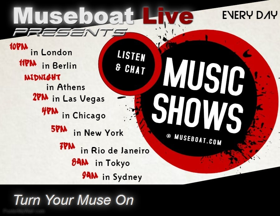 Museboat Live shows list