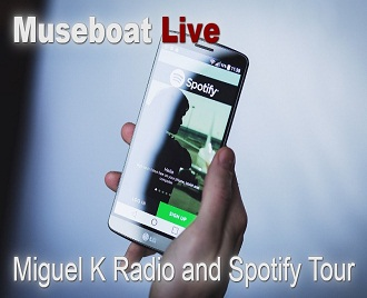 The Miguel K. Radio and Spotify Tour show